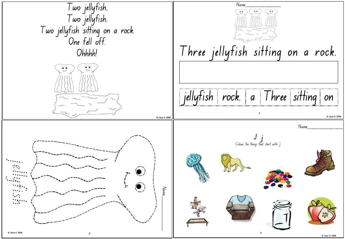 Printable Homeschool Worksheets For Preschool Trials Ireland