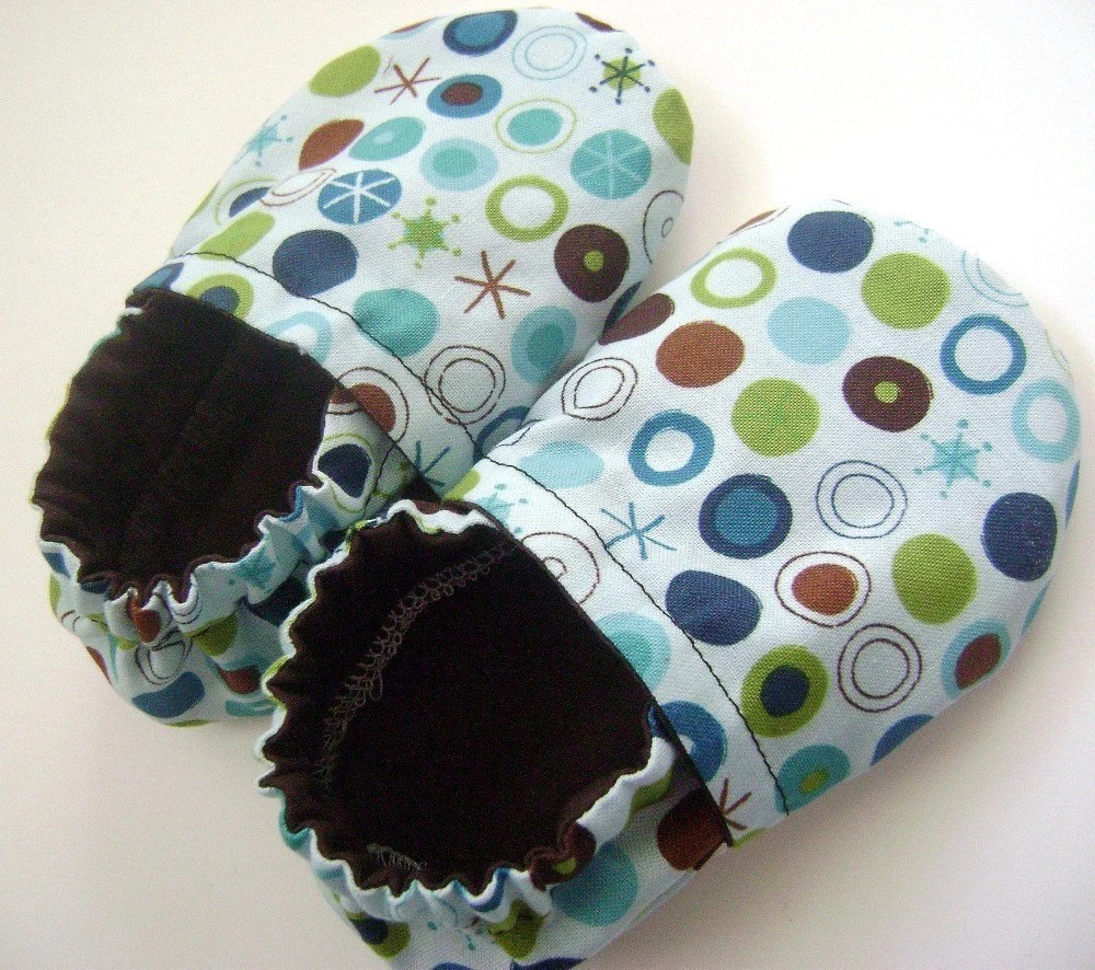 Starry Dots Baby Shoes