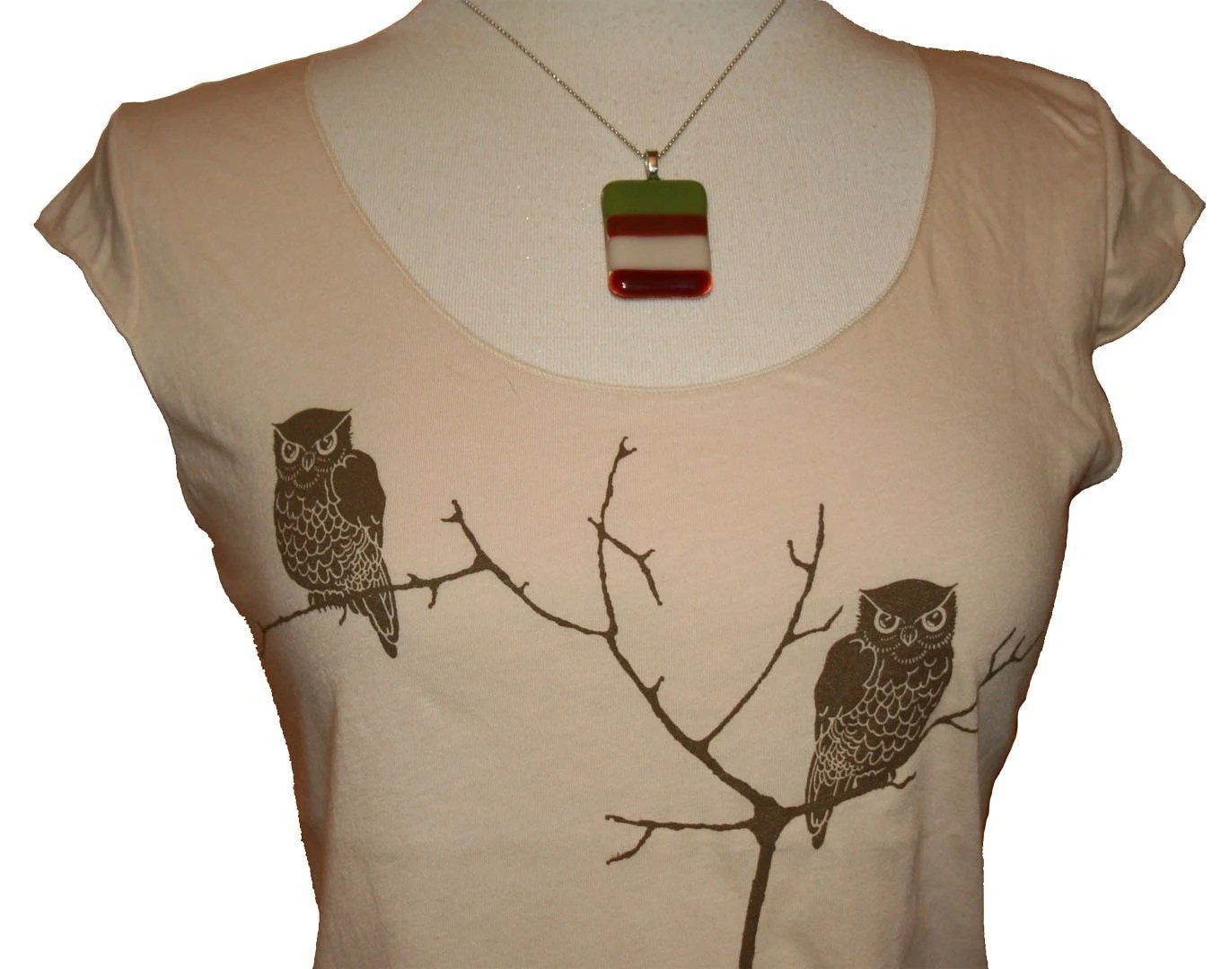 Gigantic Creme Tree Owls top