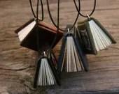 Surprise yerself - a miniature book necklace