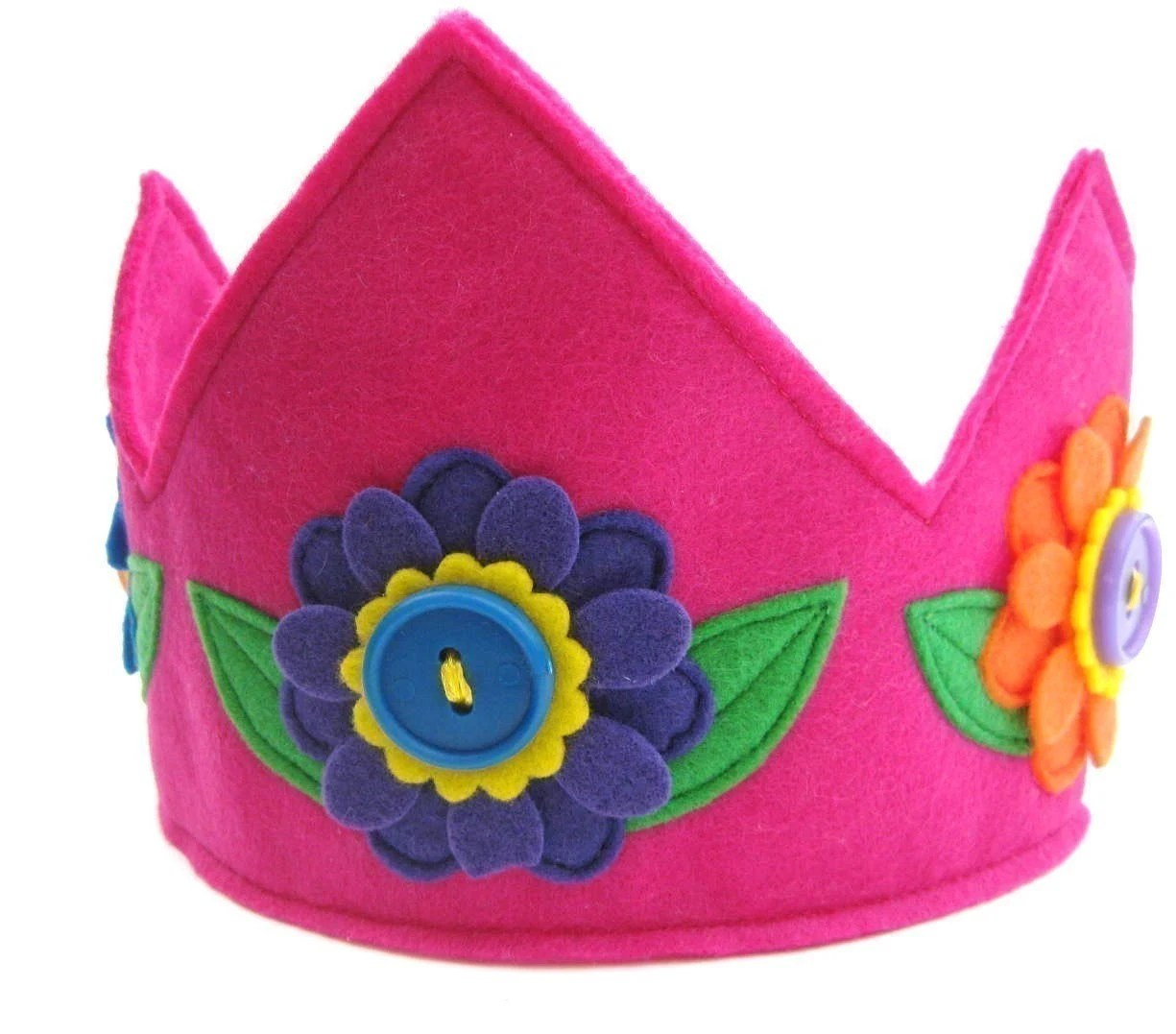La La Lovely Garden Crown (Magenta)