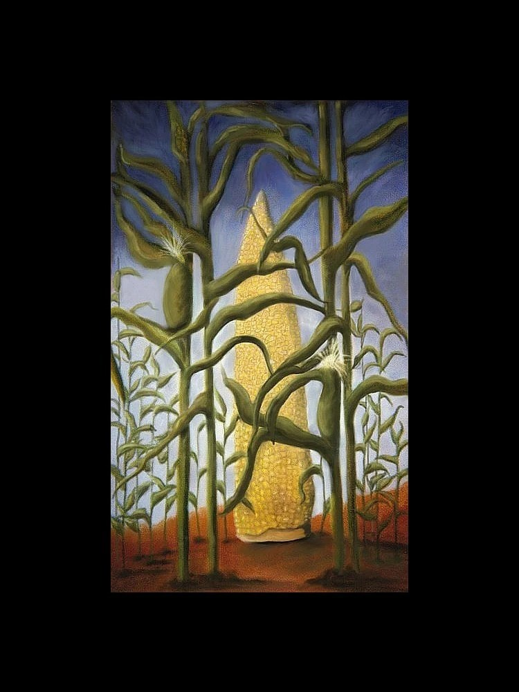 ACEO Cornfield  (larger sizes available)