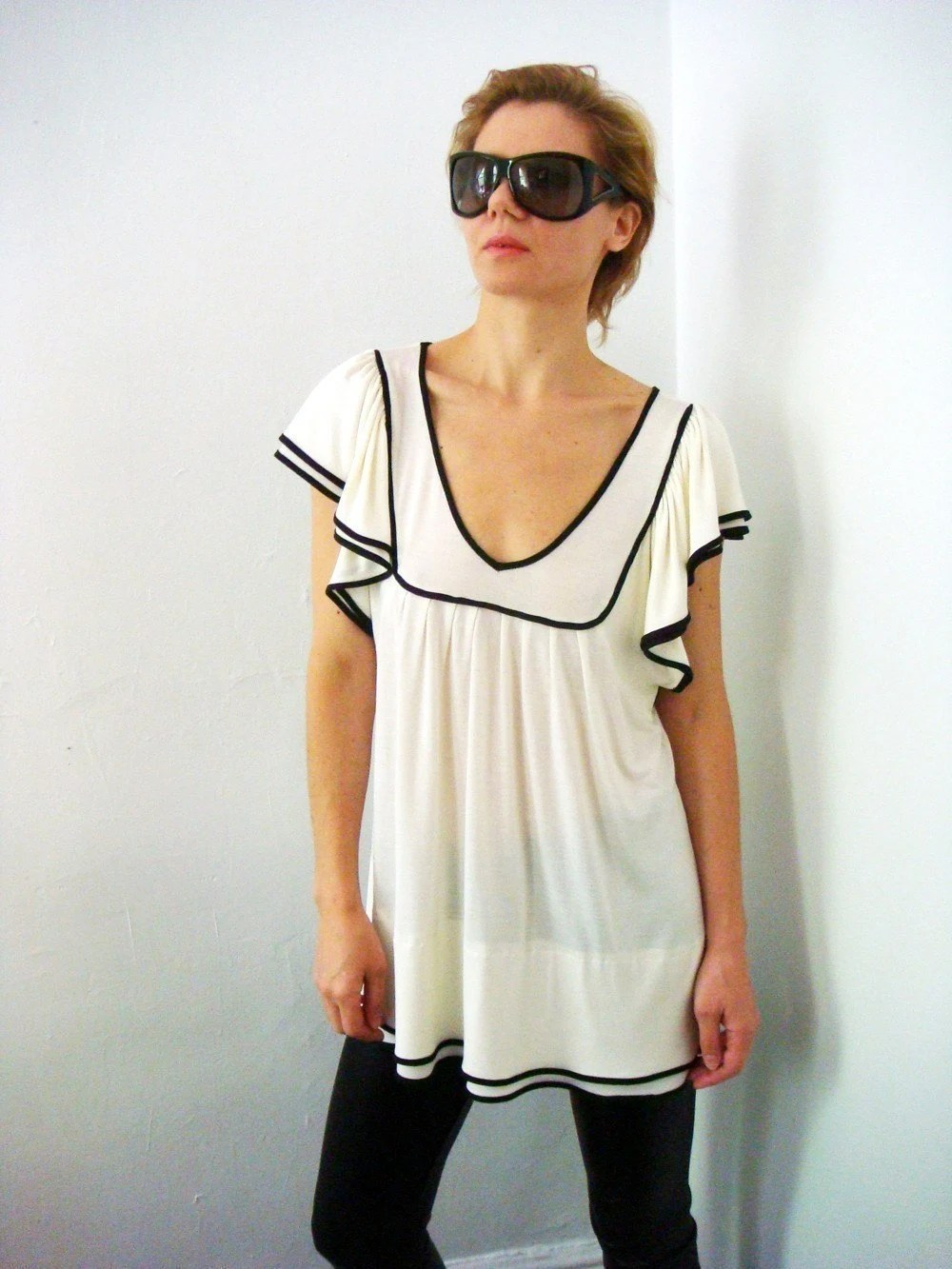 Sailor's Lover Blouse by Esoneofone