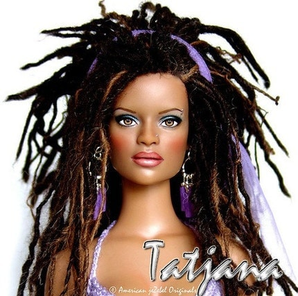 Doll with Locs from TheFlyingEwe