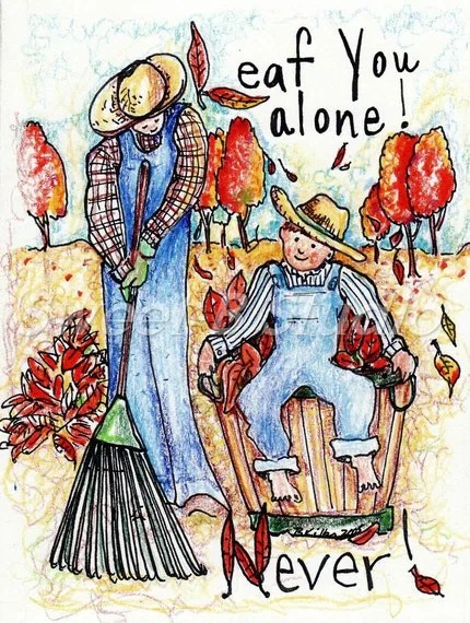 Never Leaf You Alone by Barb Kilby