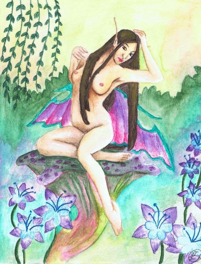 Erotic Mushroom Faerie