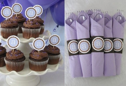 Party Pack - You Pick Monogram or Number