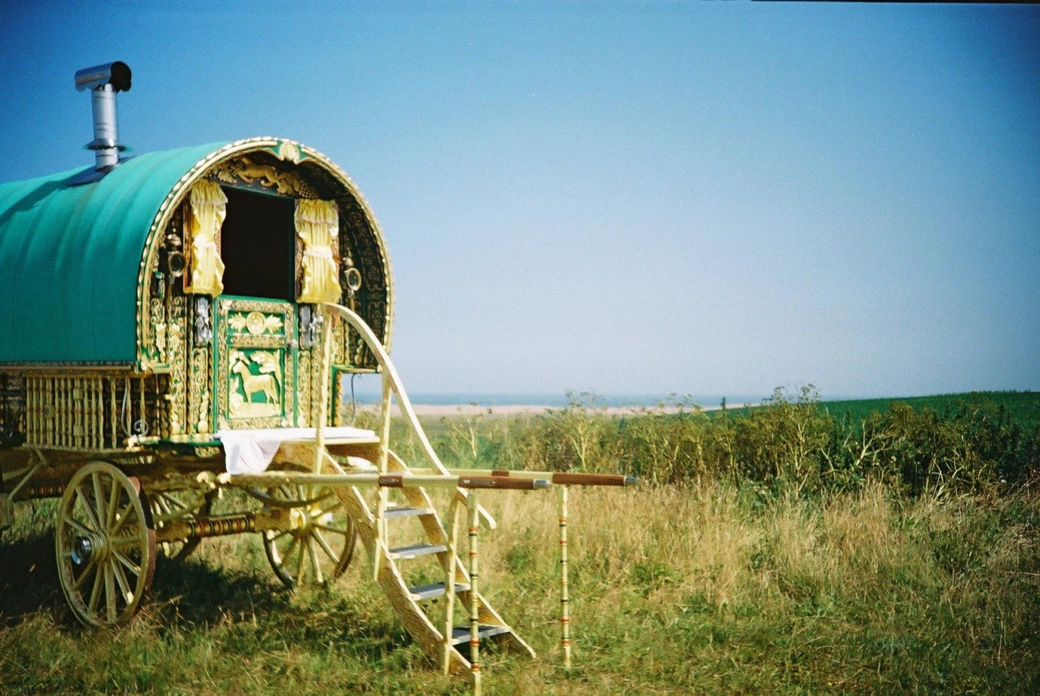Gypsy Caravan by the Sea