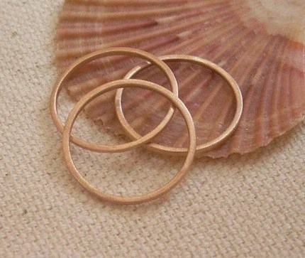 Rose Gold Stack Ring