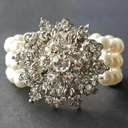 Corsage. Victorian Floral Cuff