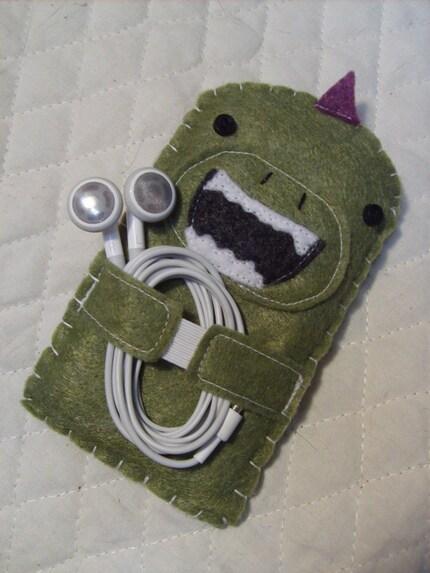 Godzilla iPod Cozy