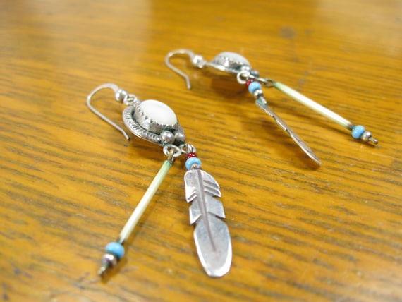 Vintage Porcupine Earrings