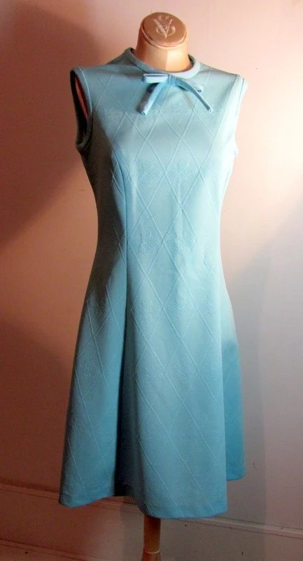 Baby Blue Sleeveless Dress