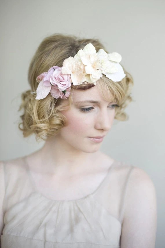 Bridal or special occasion crown - Style 047 - Made to Order