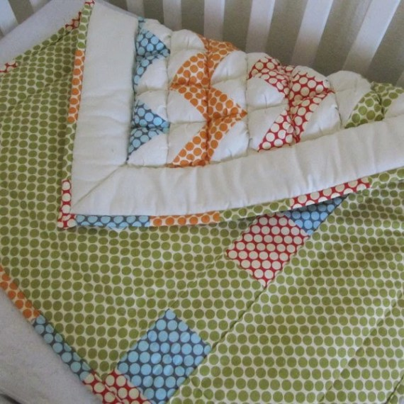 Ziggy Baby Puff Quilt MADE TO ORDER