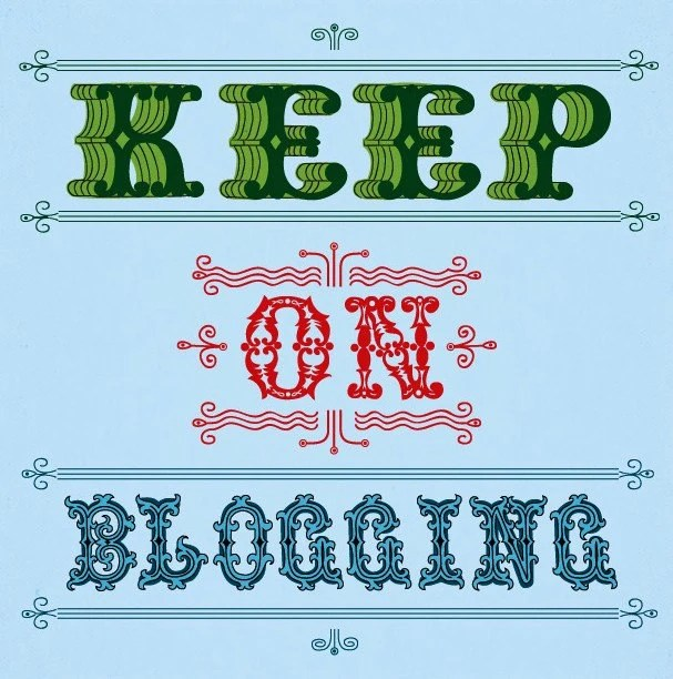 Keep on Blogging - Limited Edition Print
