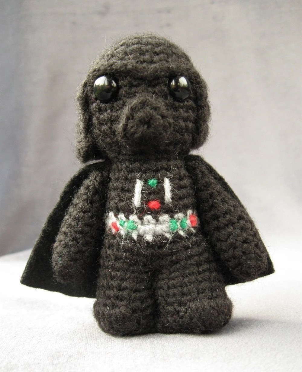 PATTERN for Darth Vader - Star Wars Mini Amigurumi