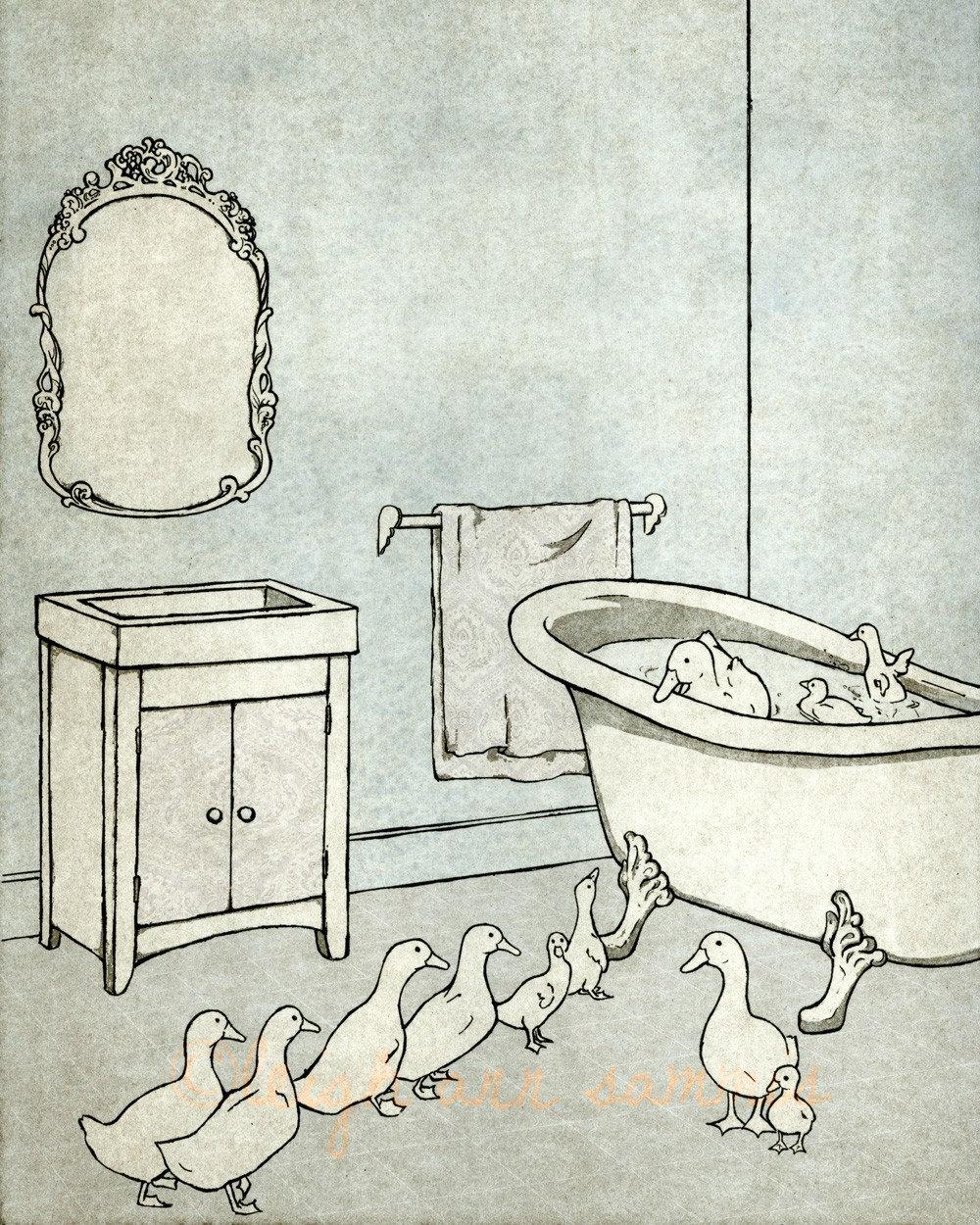 Habitations: The Pond --8 x 10 print