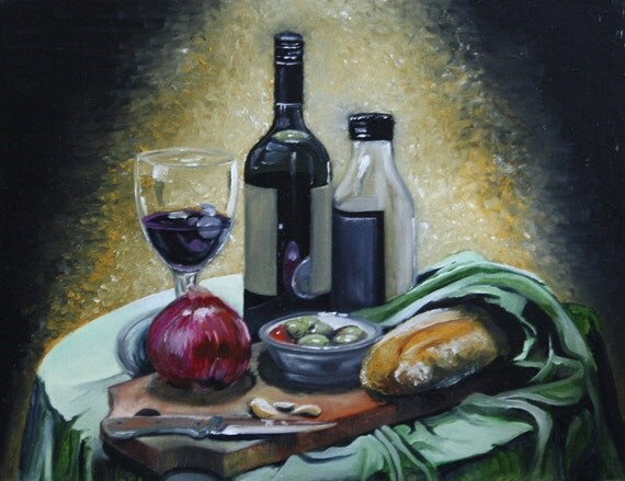 Custom Original Still life paintings