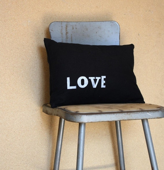 Love - 12 x 16 Removable Pillow Cover Only