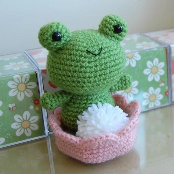 Froggy Gurumi Crochet Pattern