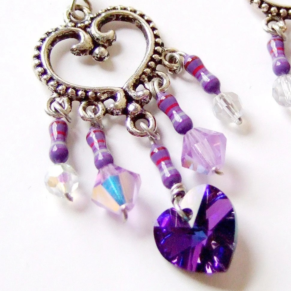 Don't even try to resist these crystal earrings!