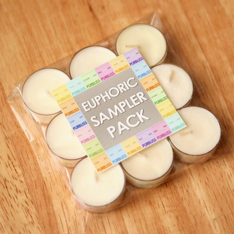 Euphoric Sampler Pack of 9 Tealights