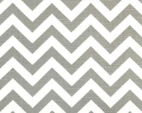New-Decorative Designer Fabric-Ash and White Zig Zag-2 yards-RESERVED FOR WENDI