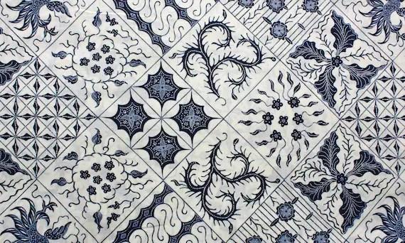 Printed Squares Batik Fabric - Buy More and Save