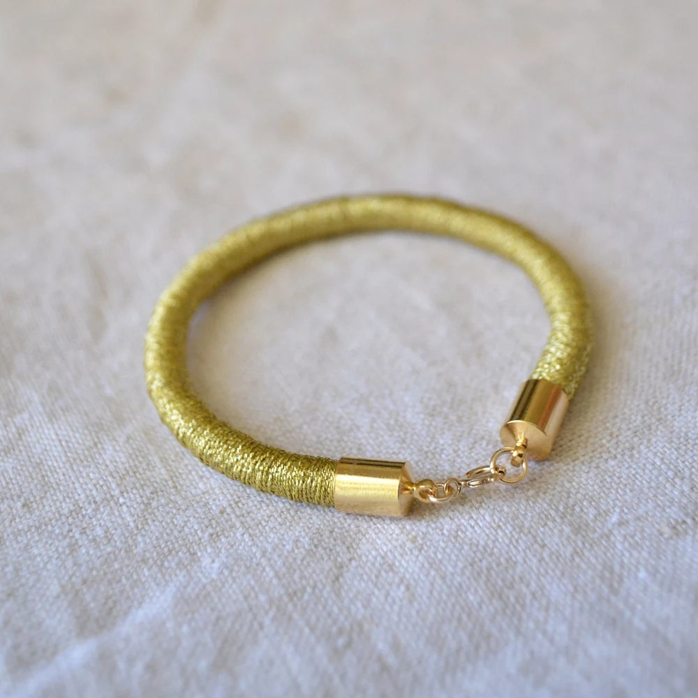 helena sparkly gold bracelet
