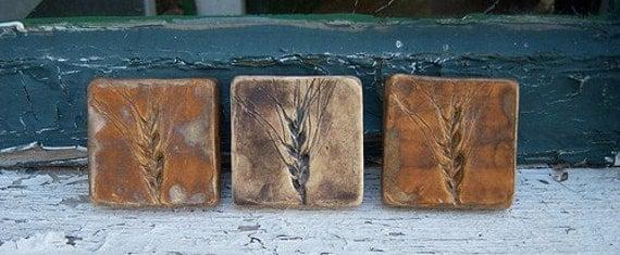 Tiny Wheat Tiles-Set of 3