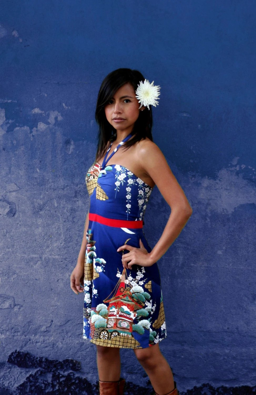 Betty Dress Japanese Cotton by Christinapires