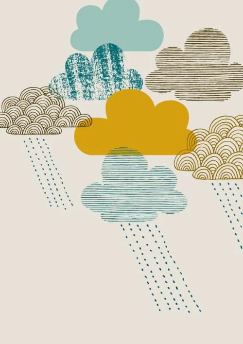 Pretty Things - Cloud Print