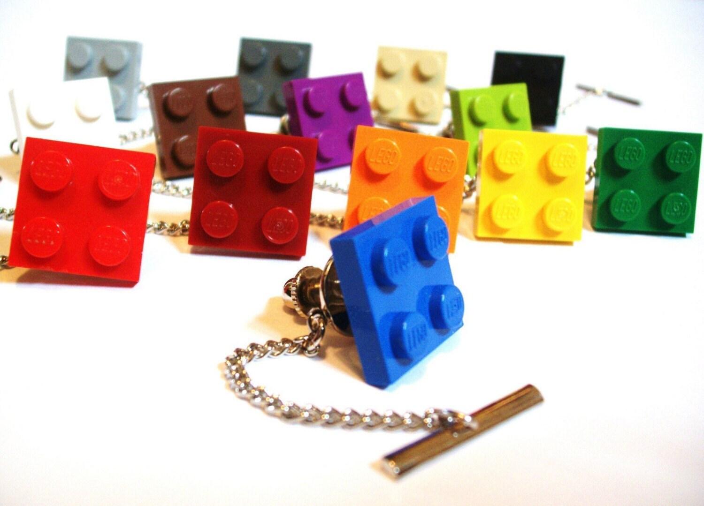 LEGO Tile Tie Tack