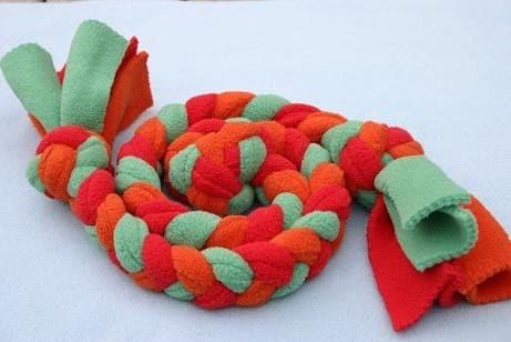 Recycled Fleece Tug Toy