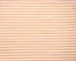 Organic Cotton Knit Jersey Fabric by the Yard in Blush Stripe