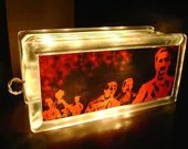 zombies - double sided  LAMP / NIGHTLIGHT