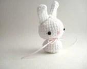Susan G. Komen Moon Bun - Breast Cancer Awareness Charity Amigurumi Bunny Rabbit