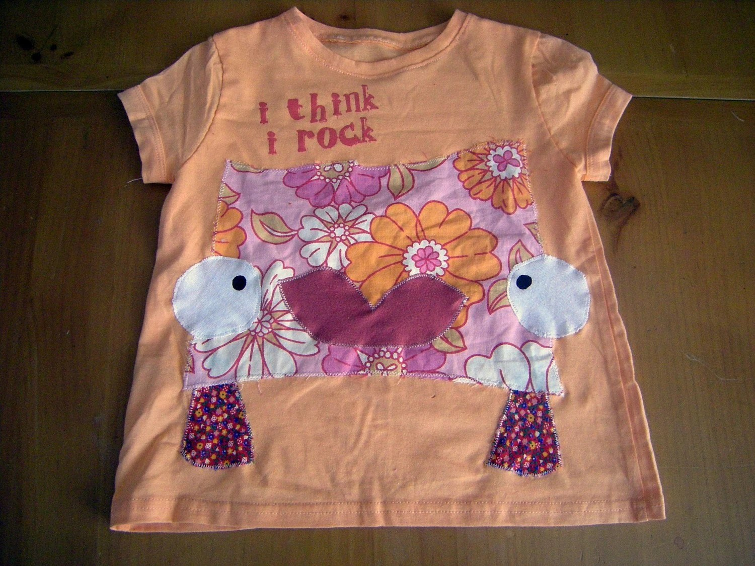 PINKY PETUNIA recycled tee - 5 years