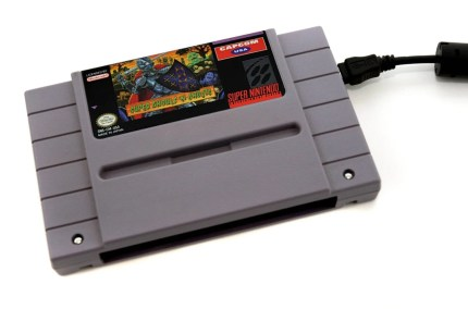 Super NES Hard Drive -  Super Ghouls and Ghosts - 500 GB