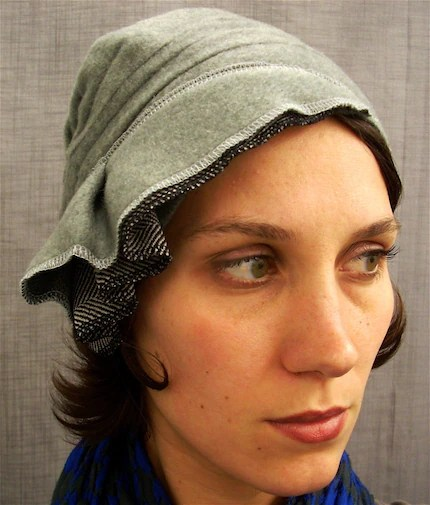 Wool Cloche Light Gray by Lizarietz