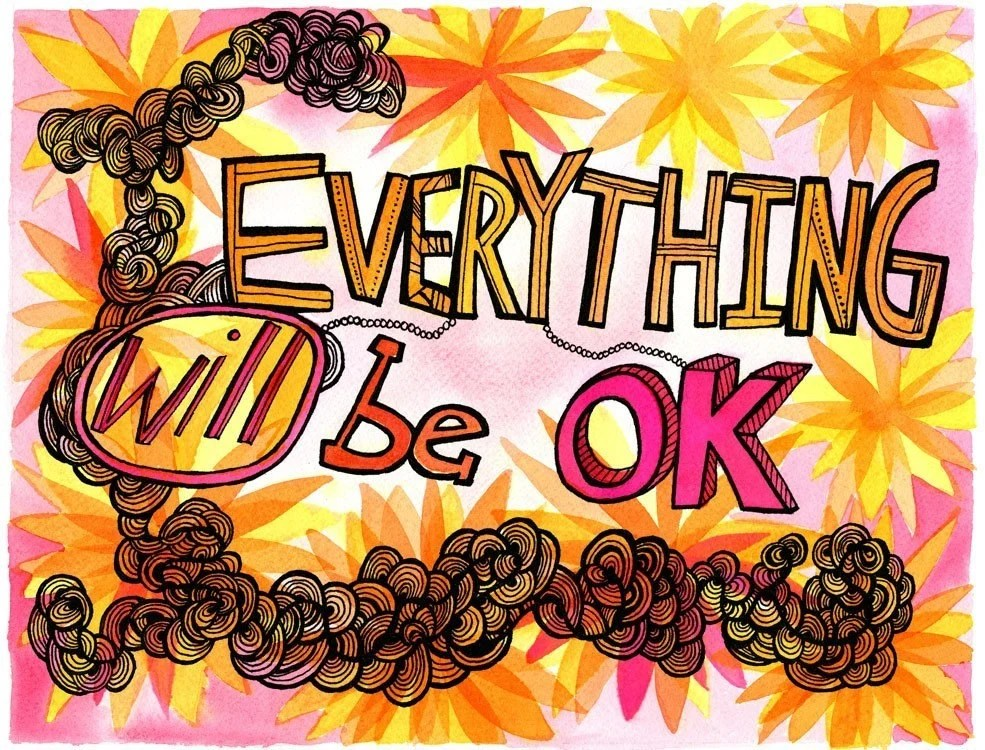 Everything Will Be Ok-Love and Peace Series-PRINT