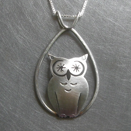 Dew Drop Starry-Eyed Tall Owl