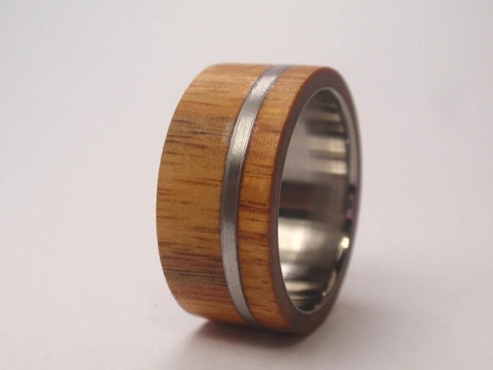 Ironwood - Lignum Vitae - Wood Ring