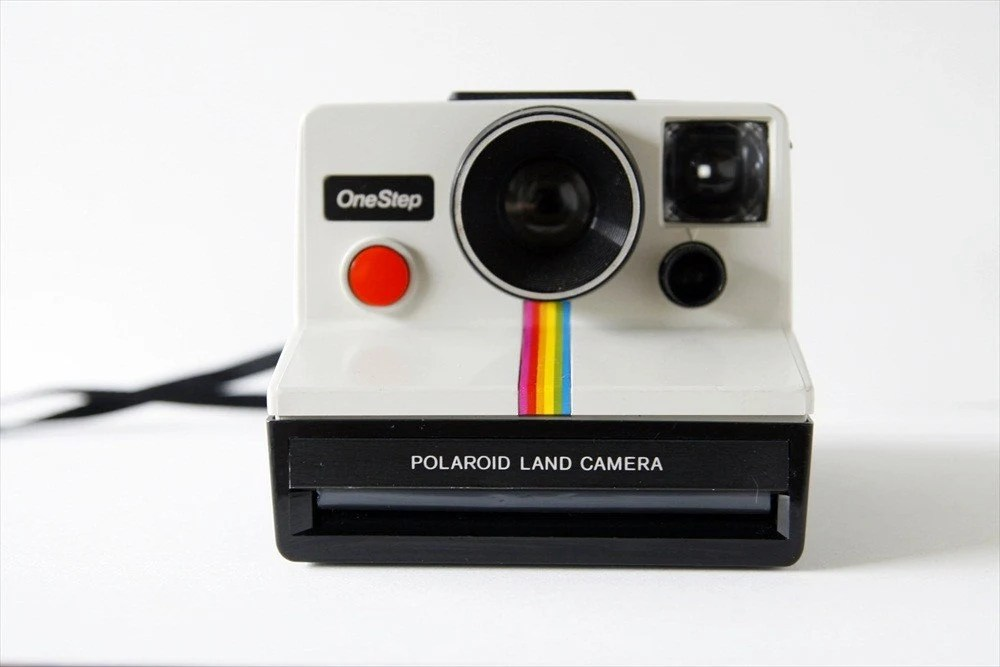 Vintage Polaroid SX-70 Rainbow One Step Camera