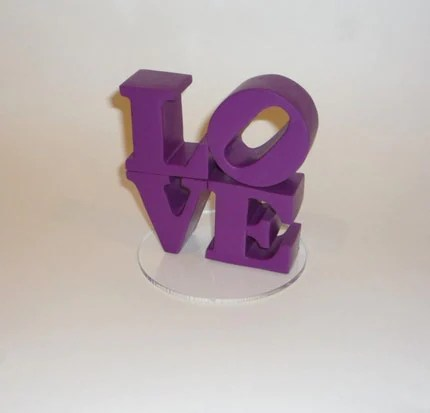 LOVE Cake Topper No Shipping Charge
