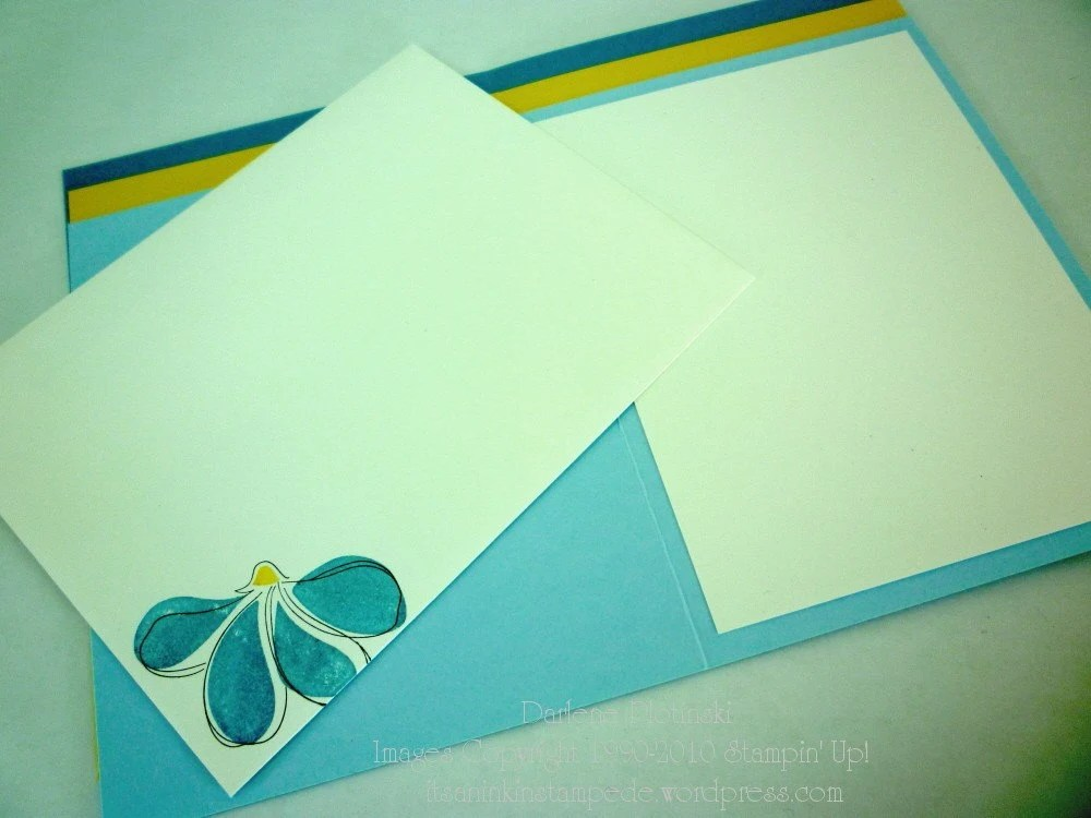 Design A Card-Blue Coneflower