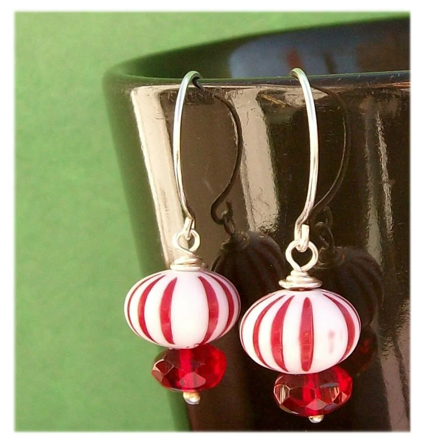 Peppermint Starlights - EBTW - Holiday Sparkle by PawAndClawDesigns