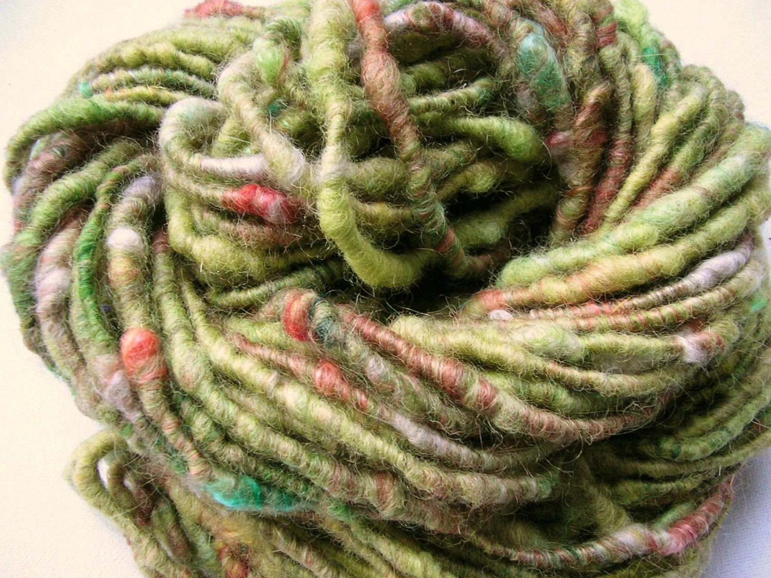 Cottage - Handspun wool and luxury fibre artyarn