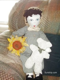 Sweet Dolly Sue Rag Doll 20 inches